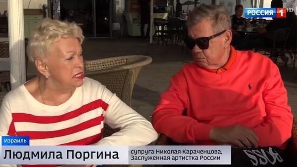 Людмила Поргина во всем поддерживает мужа и занимается с ним