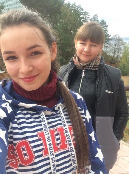 Светлана с сестрой Аленой