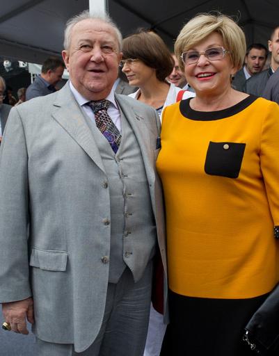 Зураб Церетели и Ангелина Вовк
