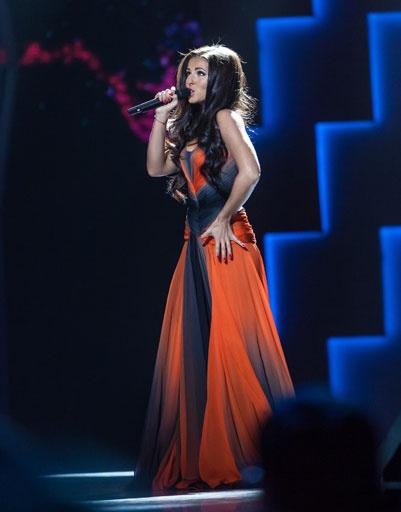 Певица Нюша