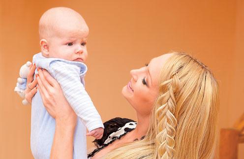 Дарья: «Многие думают, что я этакая блондинка во всем розовом и совсем не умею обращаться с ребенком. Но это не так!»