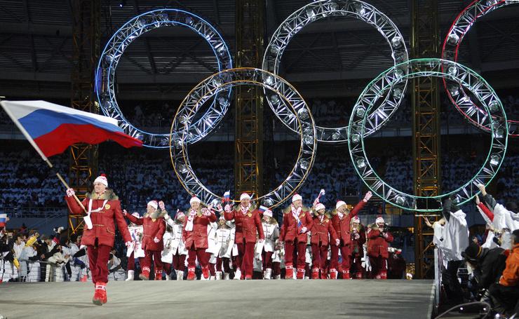 Сборная России уже сыграла под флагом Олимпиады две Олимпиады.