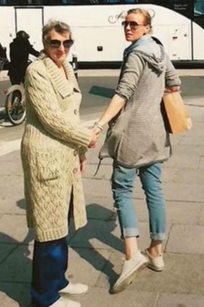 Мария Куликова с мамой