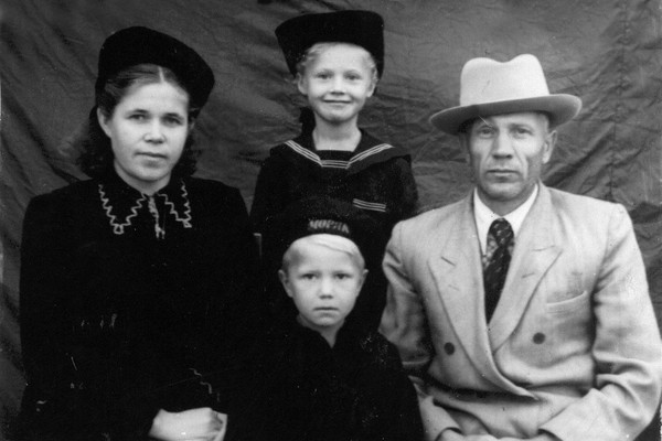 Надежда Бабкина росла в простой семье