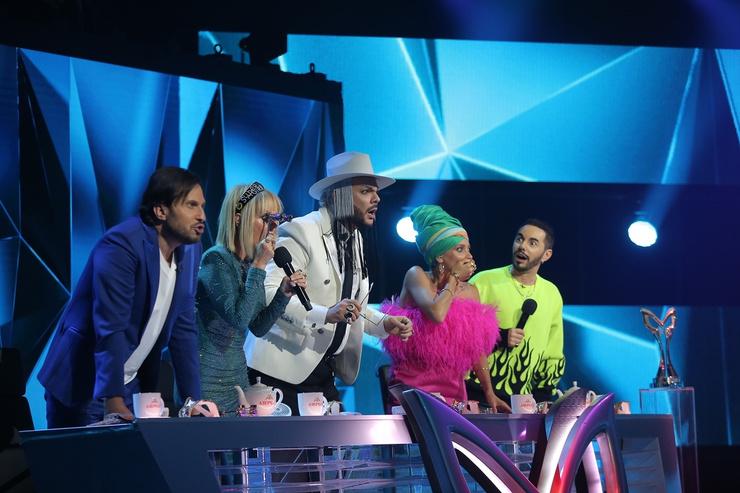 Члены жюри были в шоке, когда певец снял маску