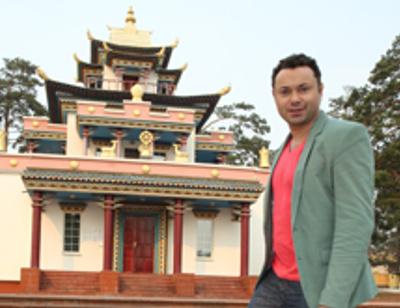 Актер Андрей Носков получил совет от буддисткого ламы