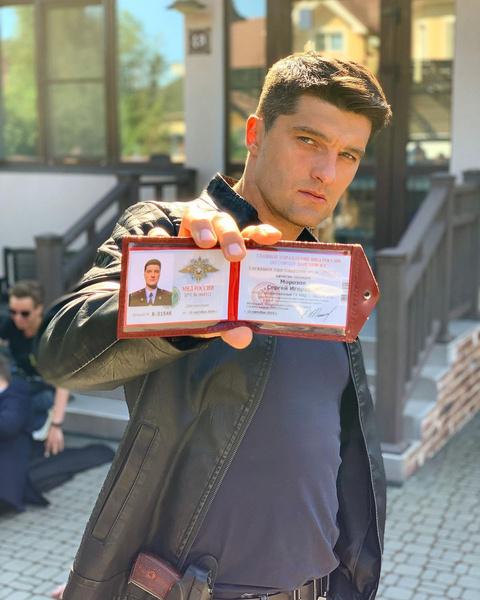Вахтанг снимается в роли сотрудника правоохранительных органов