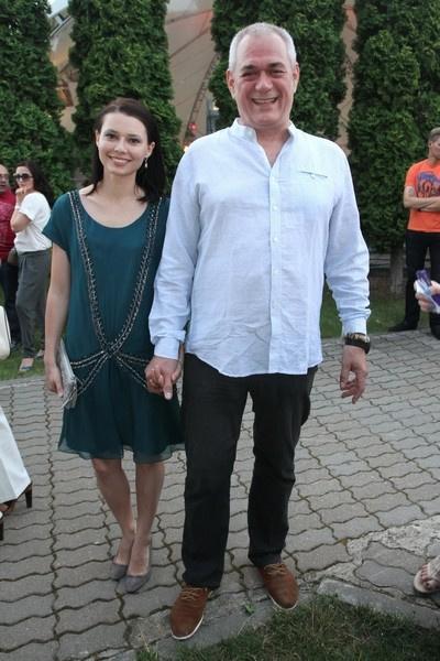 Сергей Доренко с женой Юлией
