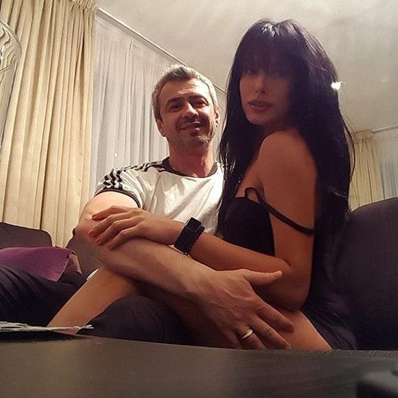 Интимная фотография Ольги Романовской с супругом