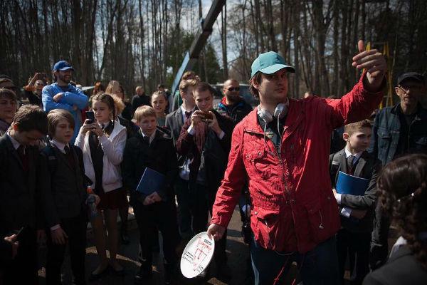 Александр Домогаров-младший работает режиссером