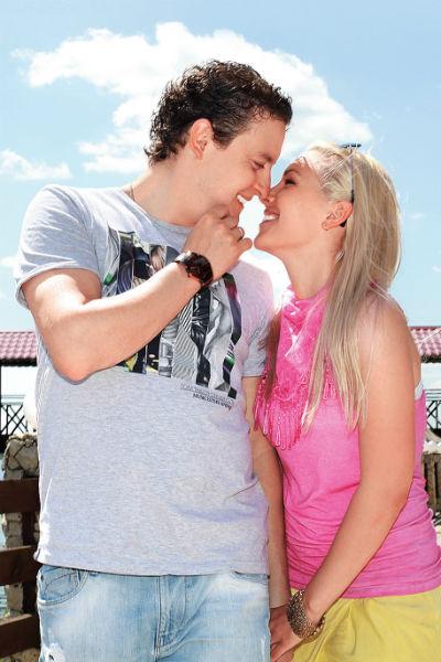 Стас Ярушин с супругой Аленой