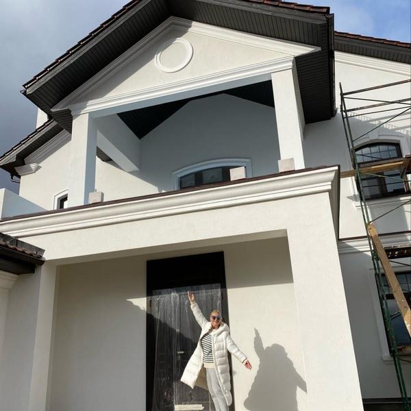 Вот таким был дом Одинцовой во время его покупки