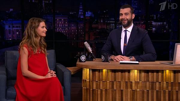 Беременная Светлана Иванова в гостях у Ивана Урганта
