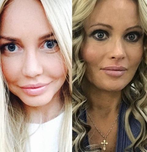 Маша Малиновская и Дана Борисова