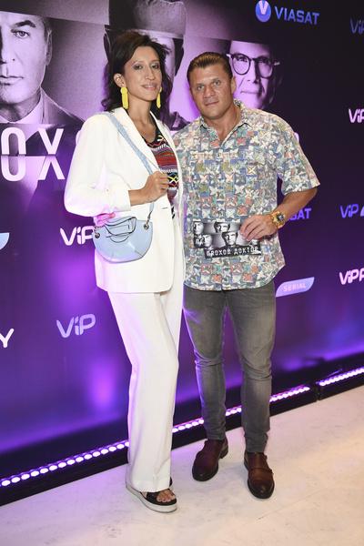 Елена Борщева с мужем Валерием