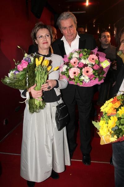 Ален Делон и Ирина Розанова