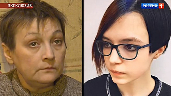 Ксения Качалина и ее дочь Анна-Мария