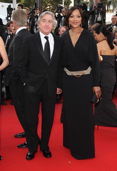 Роберт Де Ниро с супругой