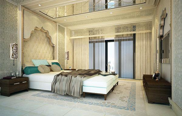 С 3-комнатными апартаментами в Дубае у супругов похожая ситуация. Купили в 2007 году, но из- за затянувшейся стройки въехали в квартиру лишь в апреле 2013-го. Проект спальни