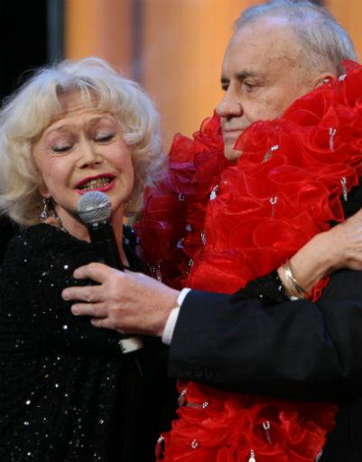 Эльдар Рязанов и Светлана Немоляева, 2007 год