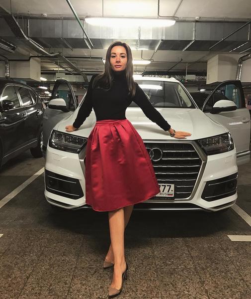 Екатерина мечтала о карьере модели