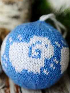 Вязаный шар, «Ярмарка Мастеров», автор: Ольга Маркова