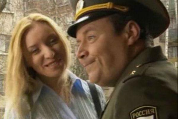 В «Солдатах» Ольга сыграла жену главного героя