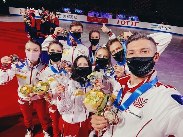 Туктамышева одна из лидеров сборной России