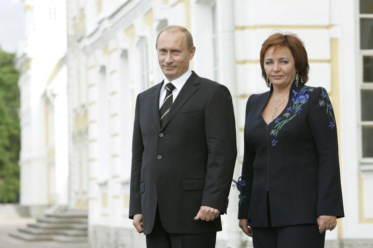 Людмила и Владимир Путины