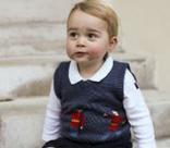Принц Георг познакомился с Санта-Клаусом