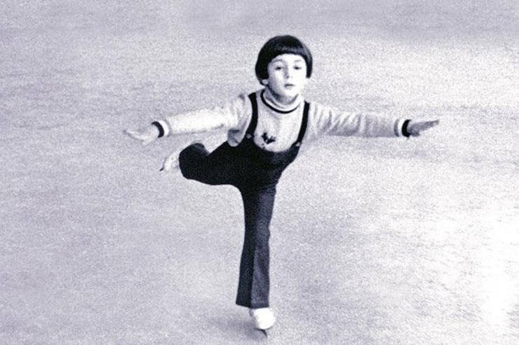 Мама поверила, что Илья Авербух достигнет успеха в фигурном катании