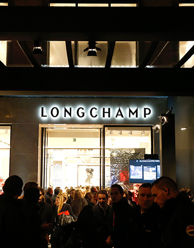 LONGCHAMP празднует открытие своего самого большого бутика в Европе