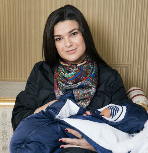 Виктория Райдос назвала сына древнееврейским именем