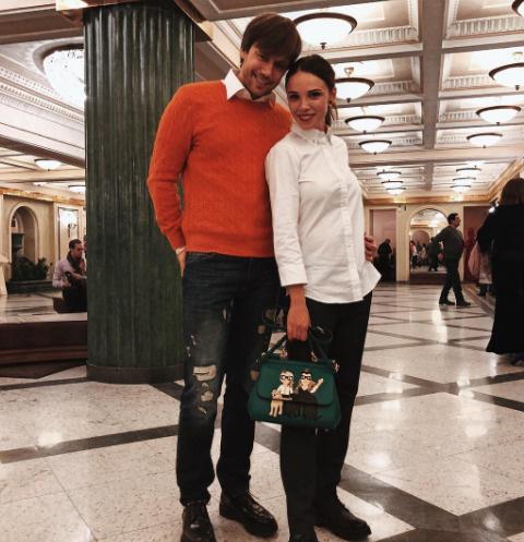 Иван Жидков и Лилия Соловьева