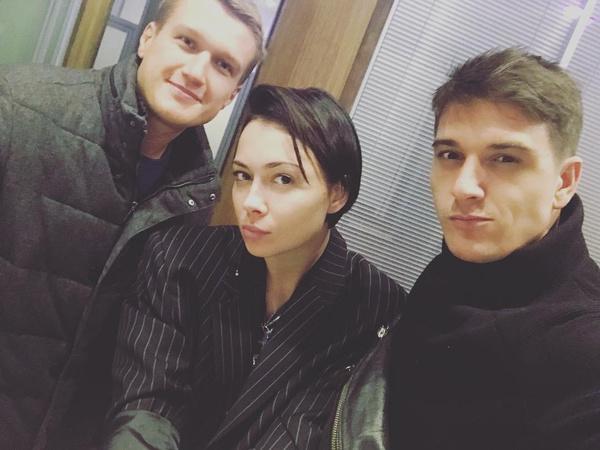 Самбурская с коллегами по цеху