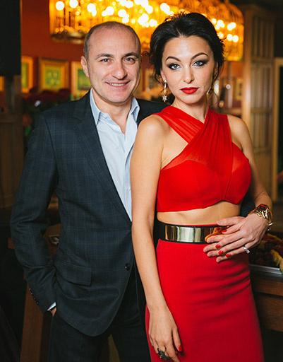 Михаил Турецкий с женой Лианой