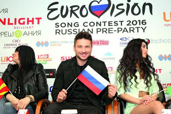 Сергей Лазарев готов к выступлению на «Евровидении»