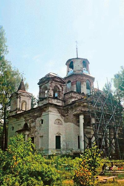 Храму Георгия Победоносца больше 200 лет