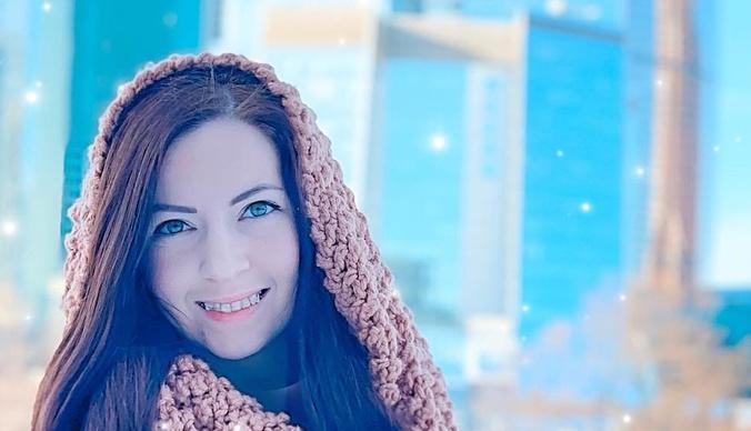 Екатерина Диденко развеяла прах умершего мужа