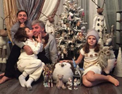 Семья Сосо Павлиашвили проведет новогодние праздники на море