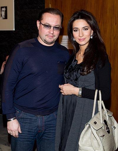 Певица Зара с мужем Сергеем Ивановым