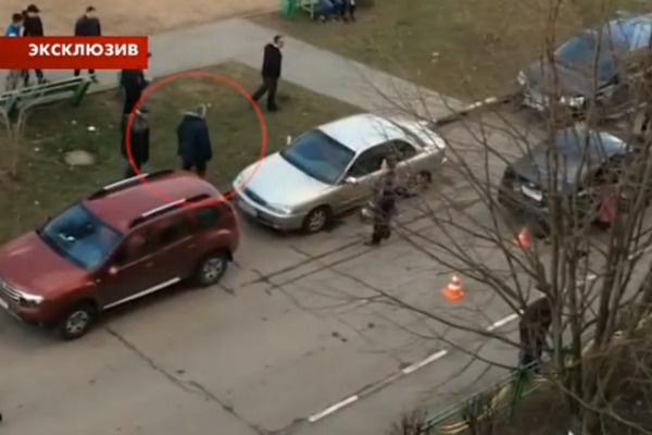 Сразу после аварии он подошел к машине и увидел бездыханное тело