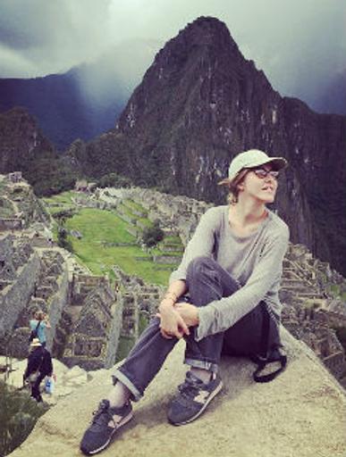 Ксения дышит горным воздухом в Перу