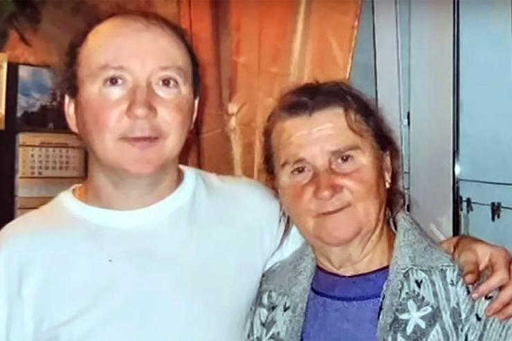 Мама артиста Валентина Александровна