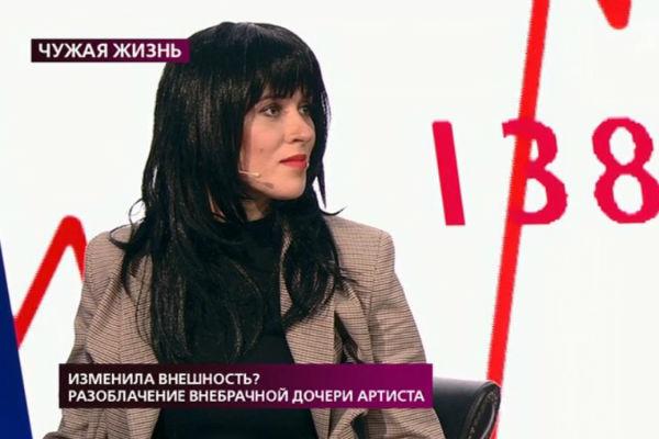 Анна-Мария называет себя дочерью Владимира Стержакова