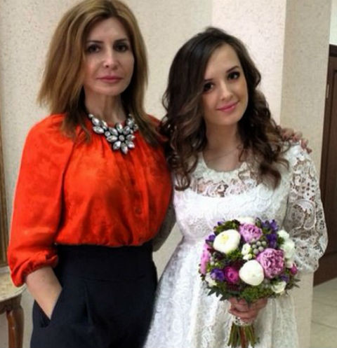Ирина Агибалова с дочерью Маргаритой