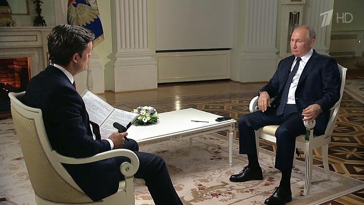 Владимир Путин крайне редко дает интервью западным журналистам