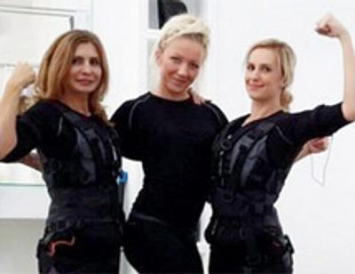 Ирина Агибалова и Ольга Гажиенко занялись фитнесом будущего