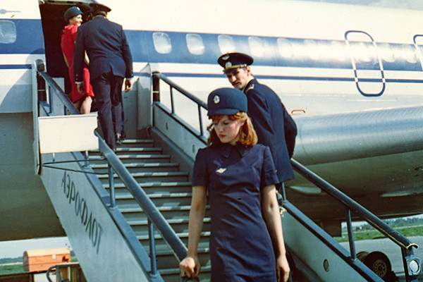 Кадр из фильма «Экипаж» режиссера Александра Митта, 1979 год