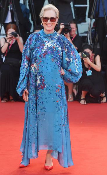 Мерил Стрип выбрала неудачный фасон платья